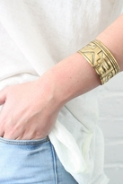 Jens Pirate Booty Mayan Ruins Cuff in Gold