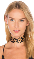 8 Other Reasons Printed Choker
