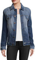 Current/Elliott Current Elliott Women's The Raglan Denim Jacket