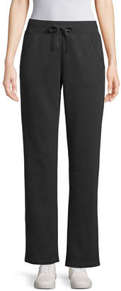 ST. JOHN'S BAY SJB ACTIVE Active Womens Mid Rise Straight Sweatpant