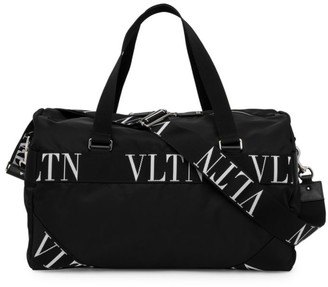 Valentino VLTN Grid Camoflauge Gym Bag