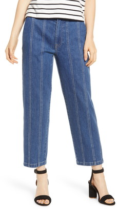 Madewell Seamed Edition Tapered Jeans