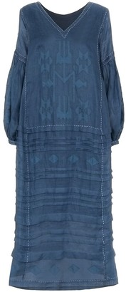 Vita Kin Neptune embroidered midi dress