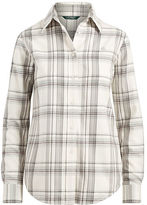 Ralph Lauren Plaid Cotton Twill Shirt