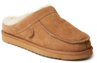 Dearfoams Fireside Griffith Genuine Shearling Lined Slipper