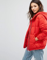 Pull&Bear Hooded Padded Jacket