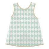 Nobodinoz Diamonds Apron Bib