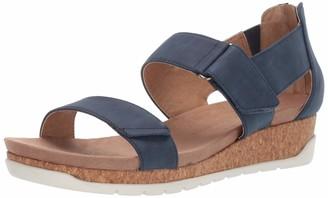 Adrienne Vittadini Footwear Women's Taytum Sandal Denim 8 M US