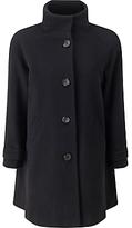 John Lewis Janet Swing Coat, Black