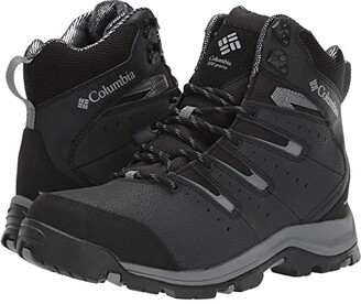 Columbia Gunnison II Omni-Heat (Black/Titanium Grey Steel) Men's Cold Weather Boots