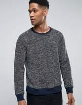 Sisley Sweatshirt With Side Pockets