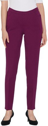 Isaac Mizrahi Live! Tall 24/7 Stretch Slim Leg Pants with Pockets