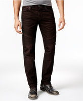 True Religion Men's Rocco Skinny- Fit Moto Corduroy Pants