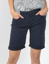 Fat Face Garment Dye Denim Bermuda Shorts