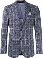 Z Zegna checkered blazer - men - Cotton/Spandex/Elastane/Cupro - 50