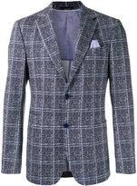 Z Zegna checkered blazer - men - Cotton/Spandex/Elastane/Cupro - 52