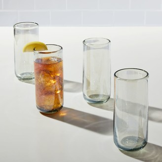 west elm Mexican Recycled Luster Highball Glasses (Set of 4)
