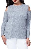 Rachel Roy Plus Size Women's Cold Shoulder Top