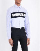 Kenzo Brand-logo Cotton Shirt