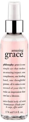 philosophy Amazing Grace Body Satin Oil, 174ml
