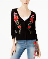 INC International Concepts I.n.c. Embroidered Rose Cardigan, Created for Macy's