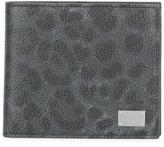 Dolce & Gabbana leopard print billfold wallet