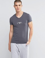 Emporio Armani Muscle Fit T-shirt In V-neck