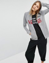 Vans Gray Classic Logo Zip Through Hoodie
