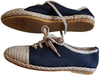 Bally Navy Cloth Espadrilles