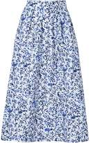 Saloni floral print skirt