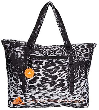 adidas by Stella McCartney Large Tote FT2951 (Black/White/Animal Print) Bags