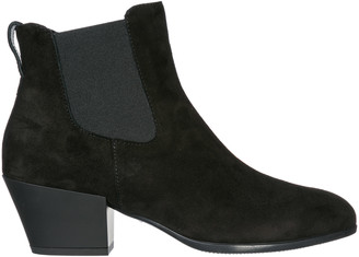 Hogan Heeled Ankle Boots