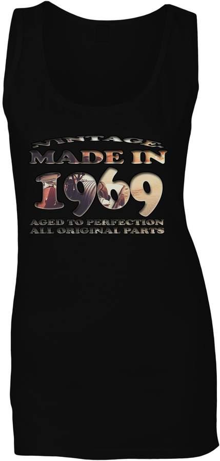 Vintage Car Original Made in 1968 Ladies T-shirt//Tank Top u753f