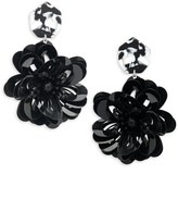 Ava & Aiden Fashion Floral Drop Earrings
