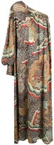 Thumbnail for your product : Anjuna Printed One-Shoulder Maxi Dress