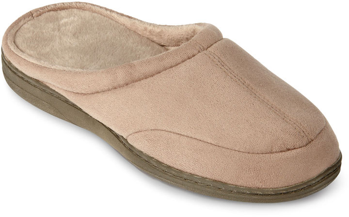 JCPenney Stafford Mens Memory Foam Clog Slippers