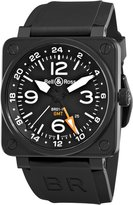 Bell & Ross Men's BR-01-93-GMT Aviation GMT Dial Watch Watch