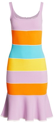 Tanya Taylor Noreen Colorblock Dress