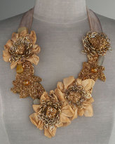 GB Couture by Emily & Ashley Flower Bib Necklace