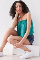 Project Social T Lindsey Ruffle Strapless Top