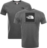 The North Face Red Box T Shirt Grey