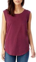 Alternative Cap Sleeve Satin Jersey T-Shirt