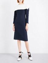 Jacquemus La Robe Franco wool and cotton-blend dress