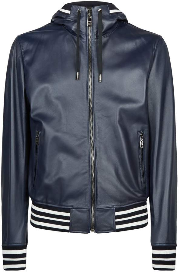 0f41a8ce5 Hooded Bomber Jacket