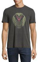 John Varvatos Cobra Graphic Short-Sleeve T-Shirt, Black