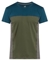 Casall M Block short-sleeved performance T-shirt
