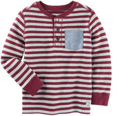Osh Kosh Striped Thermal Henley