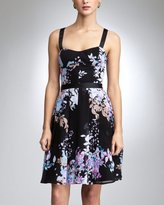 Garden Shadow Tea Dress