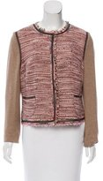 Escada Sport Tweed Wool-Blend Jacket w/ Tags