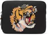 Gucci Appliquéd Canvas Tablet Case